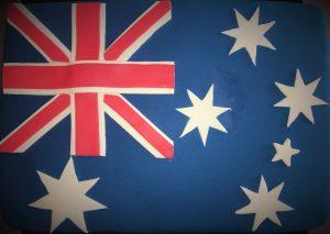 australian flag cake