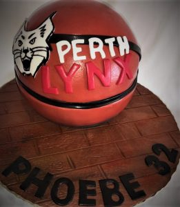 perth basketball cake
