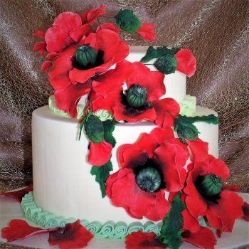 carol wedding cake