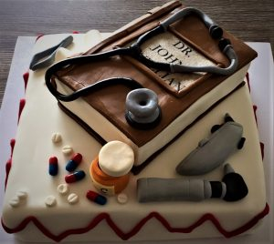 doctors birthday cake