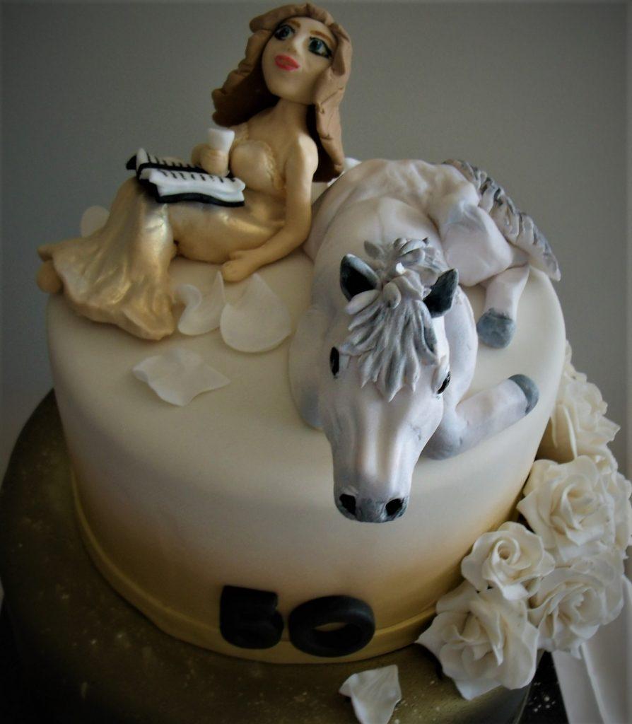 horse novelty cake