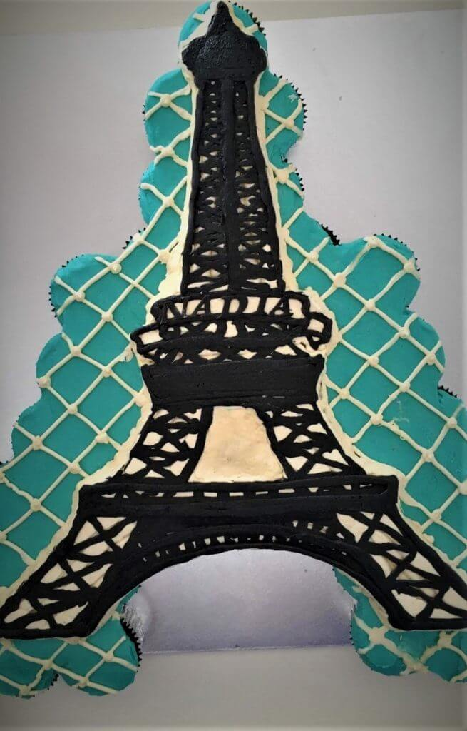 iffel tower cake