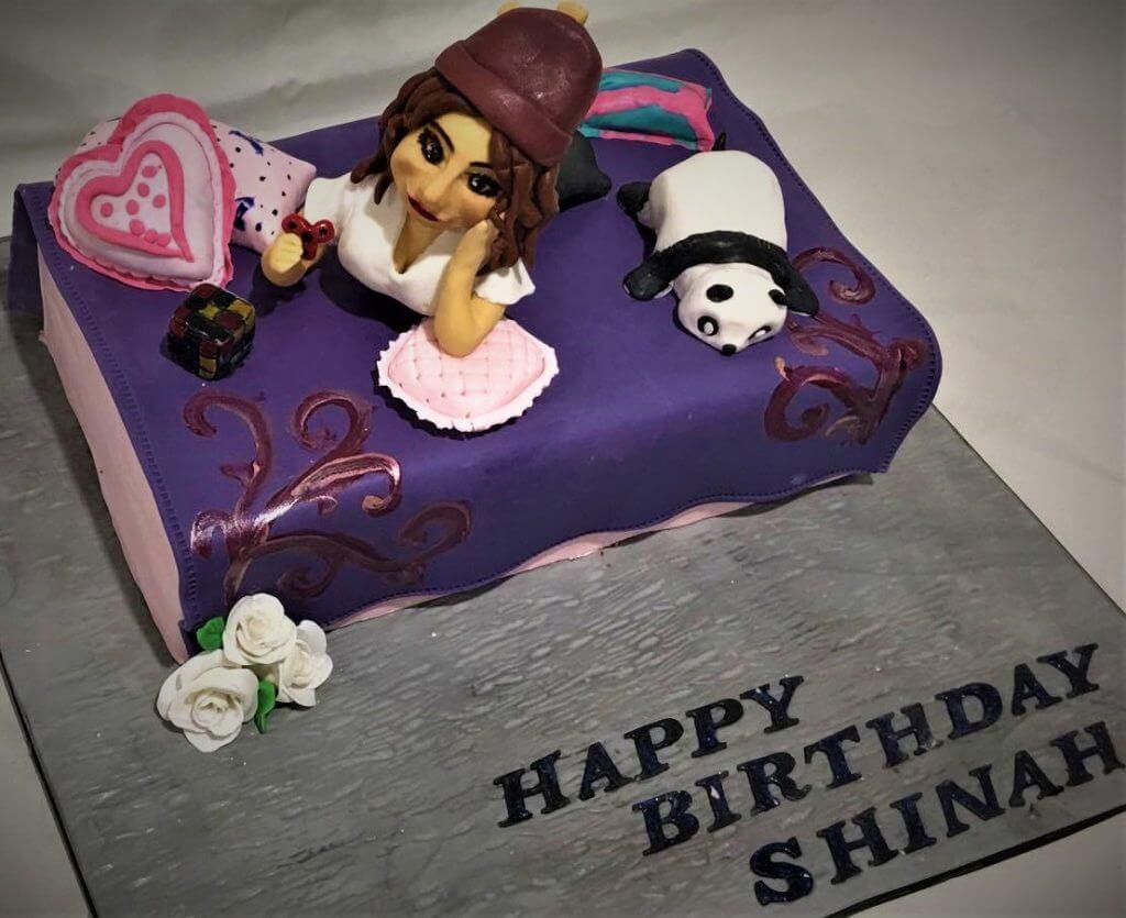 lazy person birthday cake