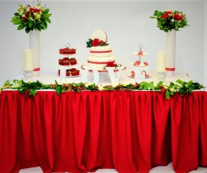 macroon wedding cake set