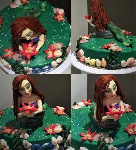 mernaid cake