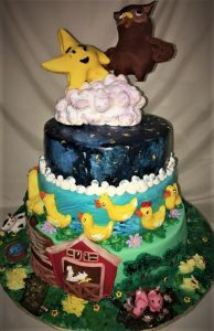 nursery rhym birthday cake