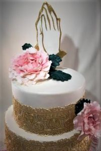 worship wedding cake