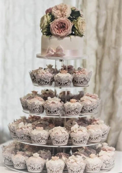 ashleigh cupcake tower