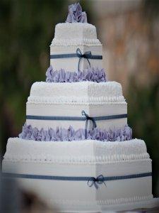 donna wedding cake