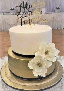 hannah wedding cake