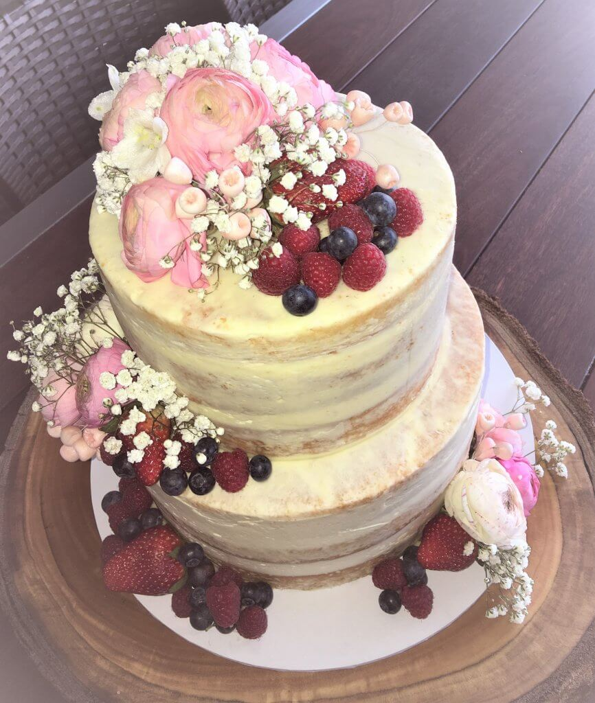 louise buttercream wedding cake