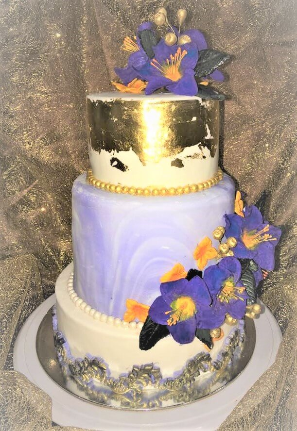 lorna wedding cake
