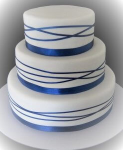 milli wedding cake