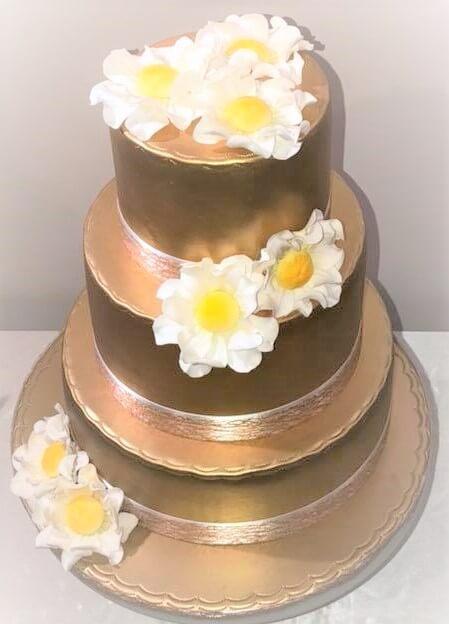 olivia wedding cake