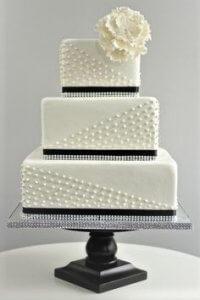 peta wedding cake