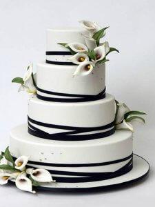 rachel wedding cake