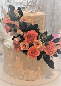 vickie wedding cake