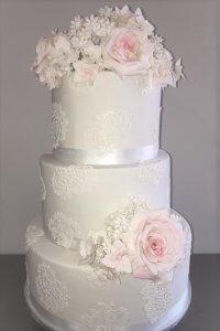 zoe wedding cake