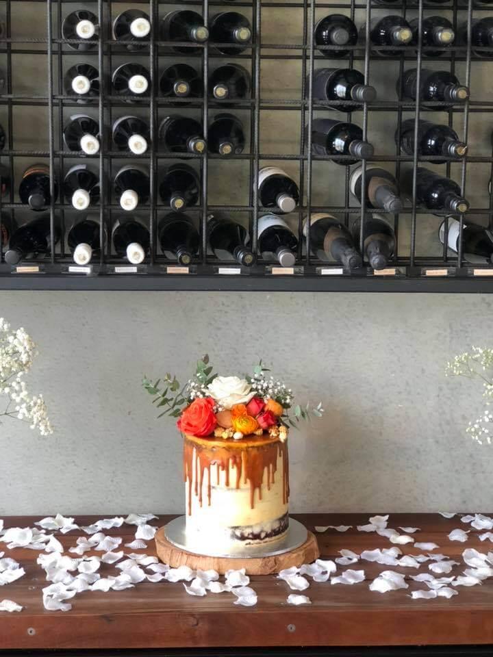 red velvet wedding cake from rimmas wedding cakes perth