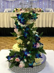 three tier wedding cake from rimma's wedding cakes perth