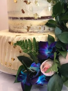 three tier buttercream wedding cake supplied by rimma's wedding cakes perth