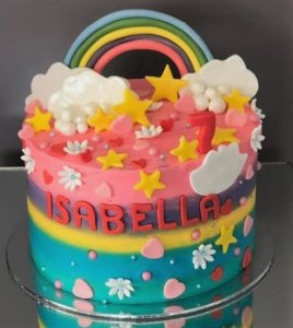 isabella birthday cake