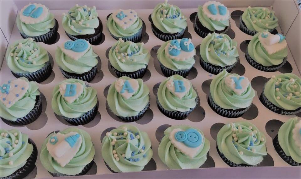 new baby cupcakes