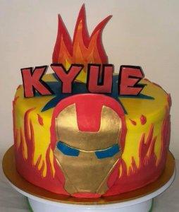 thor birthday cake