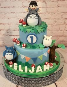 Monsters Inc 1st Birthday Cake