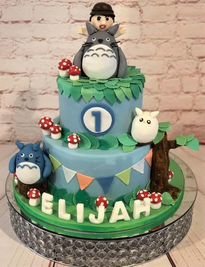 Monsters Inc 1st Birthday Cake