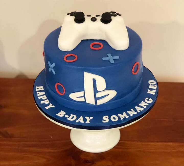 Playstation Birthday Cake Rimma S Wedding Cakes