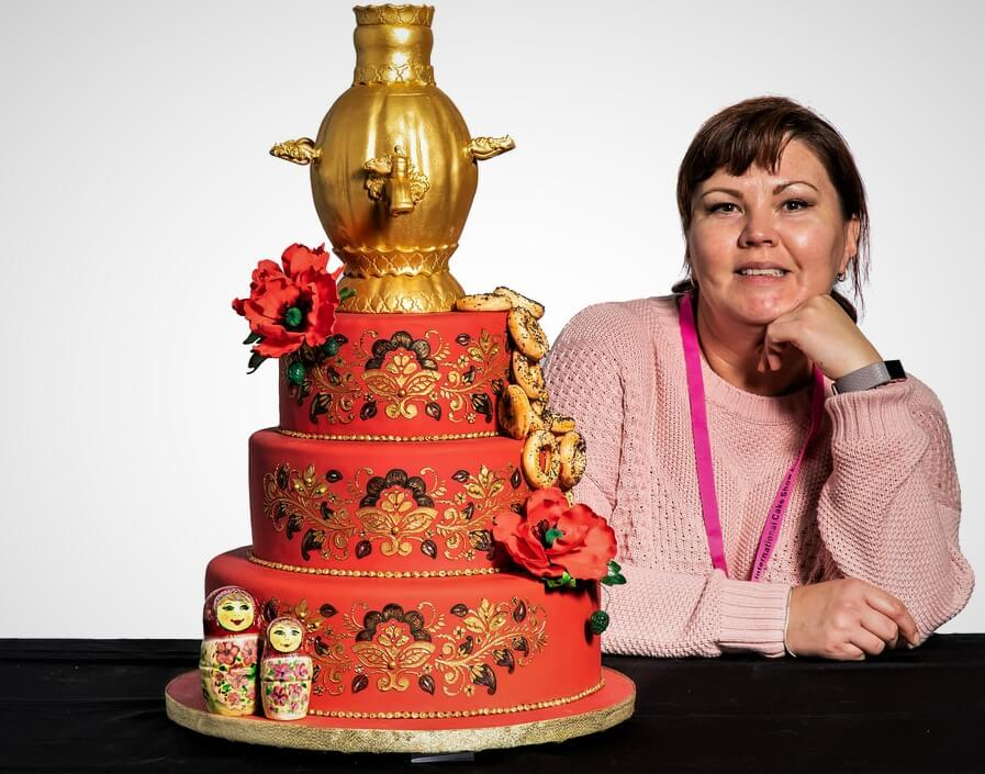 traditional russian cake