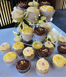 cupcake from rimma's wedding cakes perth
