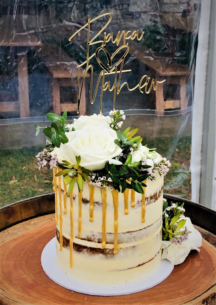 high buttercream wedding cake from rimmas wedding cakes perth