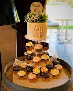 wedding cupcake tower from rimma's wedding cakes perth cupcakes for weddings