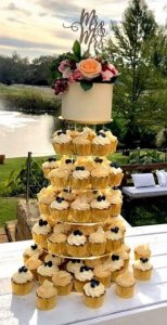 rimma's wedding cakes perth wedding cupcake tower